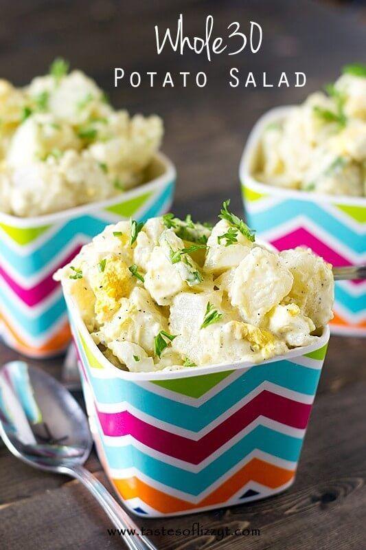 Whole30 Potato Salad Recipe - Tastes of Lizzy T