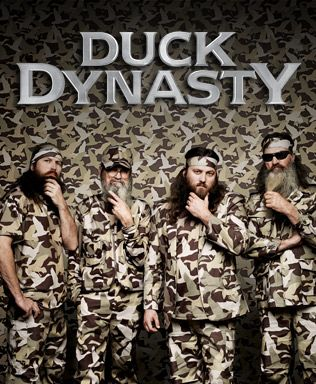 If you told me a year ago that one day I'd be excited over a show about hunters, I'd have said you were crazy. That being  said....I freakin' love this show!  Duck Dynasty - aetv.com