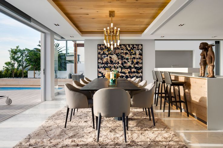 ZA Cape Villa - ARRCC inspiration, design inspiration, interior decor, interior architecture, house ideas, luxury, dining