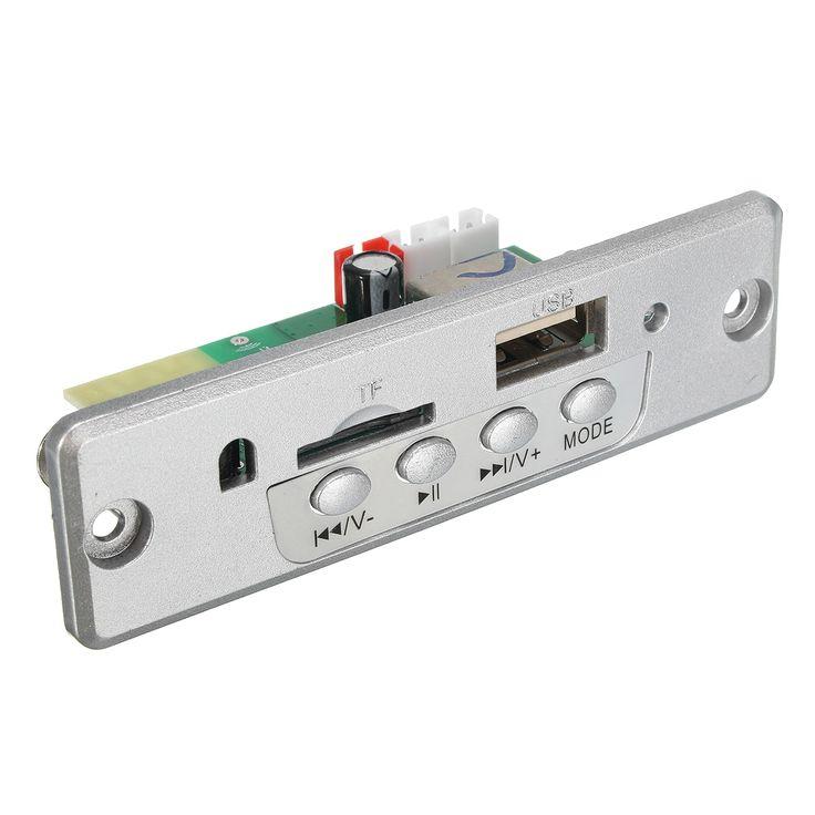 Output 5V Mini Bluetooth Wireless MP3 Decoder Board Audio Module USB TF Card