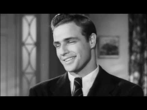 Marlon Brando's screen test Rebel without a Cause