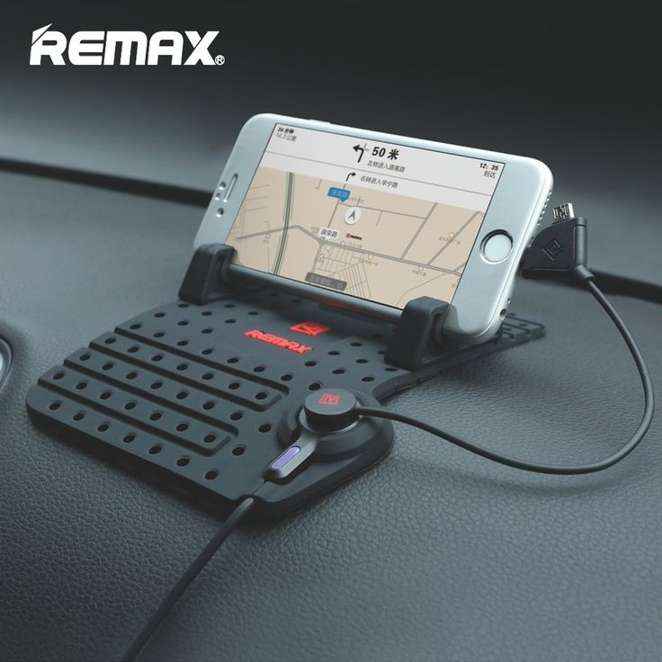 100% Original Remax Universal Car Phone Holder For iPhone GPS iPad Samsung LG HuaWei Mobile Phone Charger Stand
