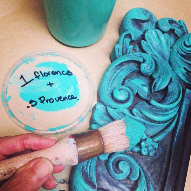 17 Best Ideas About Blue Chalk Paint On Pinterest Diy