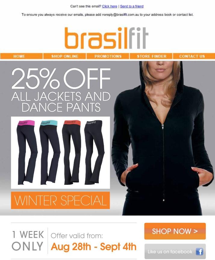 #brasilfit #electronicdirectmail