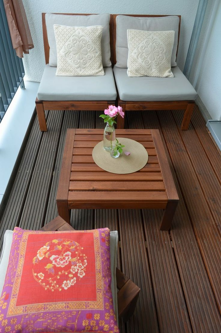 17 beste idee n over appartement balkon op pinterest balkon decoratie balkons en buiten vloeren. Black Bedroom Furniture Sets. Home Design Ideas