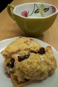 Tealightful Easy S'mores Scones Recipes Find link to this recipe on my ...