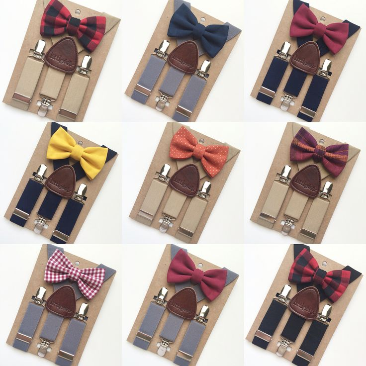 Little Mr. baby and toddler suspender and bow tie set. Fall 2016 www.littlemr.com