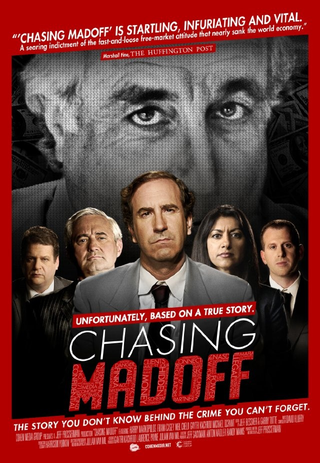 """Chasing Madoff ~ """"A look at how one investigator spent ten years trying to expose Bernie Madoff's massive Ponzi scheme that scammed an estimated 18 billion dollars from investors."""""""