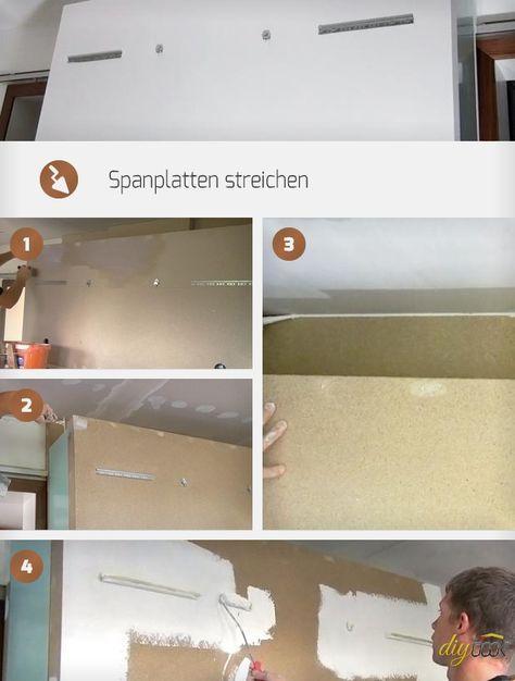 Spanplatten können sehr einfach gestrichen werden. Diese Anleitung hilft dennoch, die wichtigsten Fragen beim Streichen von Spanplatten zu beantworten.