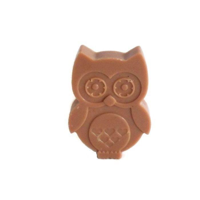 Cire Parfumée Chocolat Chouette / Hibou Cire Végétale Naturelle Parfum d'Ambiance : Luminaires par bougies-parfumees-fleur-artifice