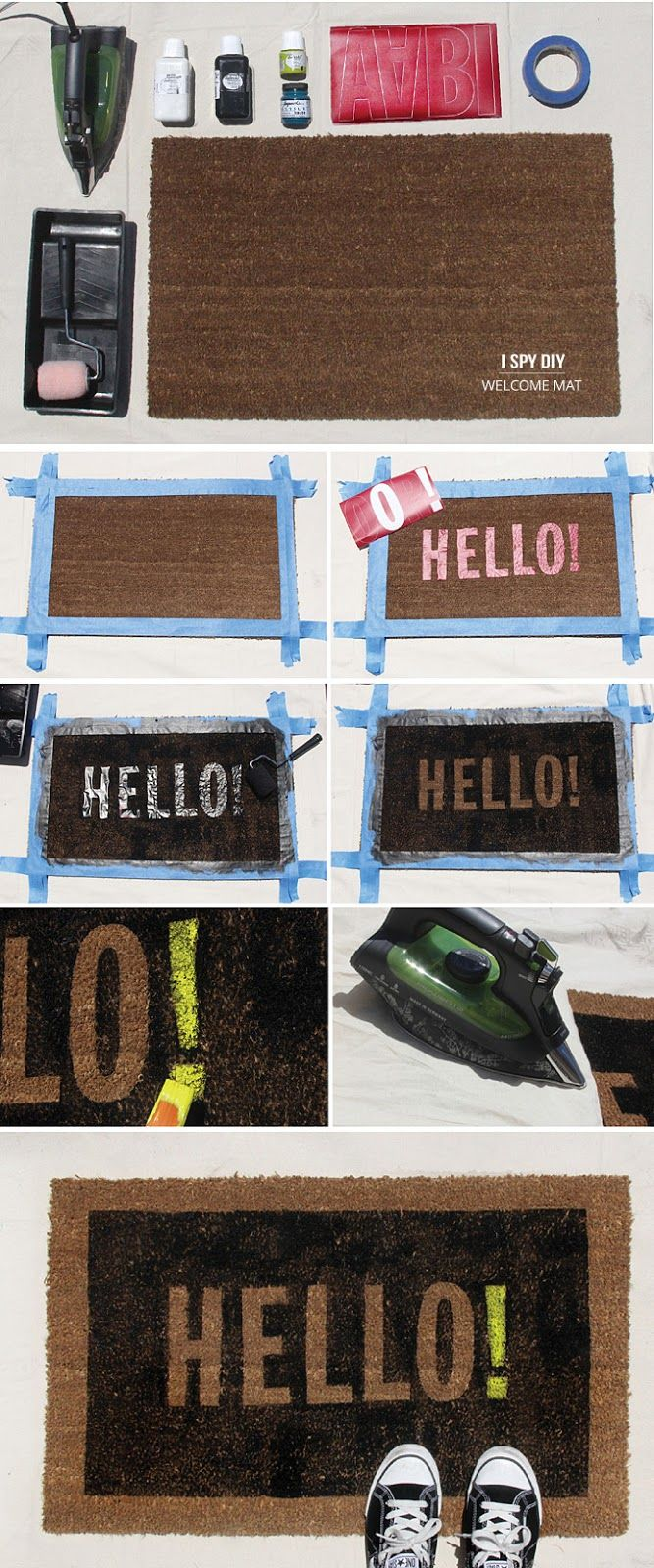 DIY-Welcome Mat