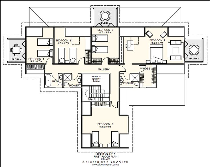 9 best house plans images on pinterest house floor plans floor double storey 5 bedroomed home with lifestyle features malvernweather Choice Image