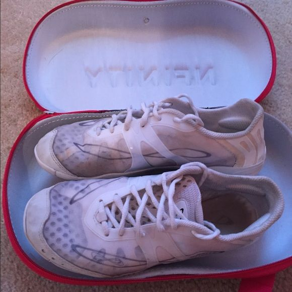 Nfinity cheer shoes size 8.5 Nfinity cheer shoes only worn 3 months. They are in great condition. Nfinity Shoes Athletic Shoes