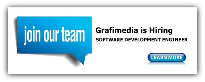 Job Opening: GRAFIMEDIA SOFTWARE DEVELOPMENT ENGINEER