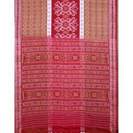 OSS6176 sambalpuri cotton saree online shopping