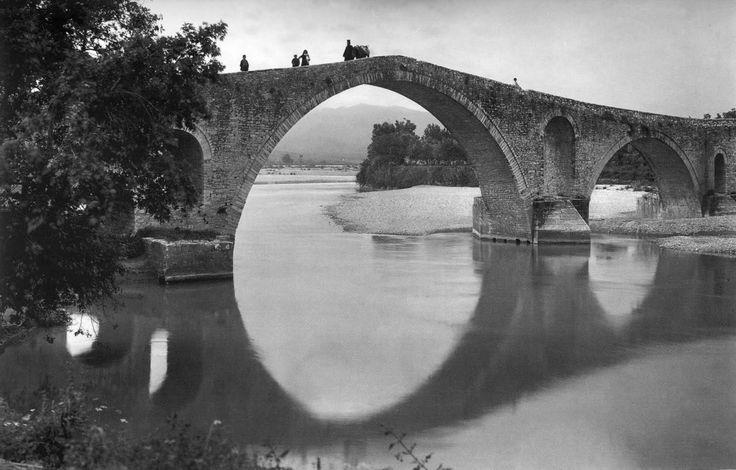 Το γεφύρι της Άρτας, 1913 Πηγή: www.lifo.gr
