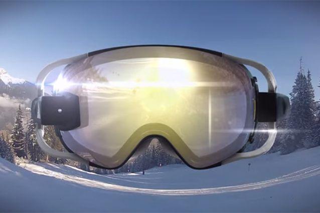 Idee di Business: Occhiali da sci con la realtà aumentata