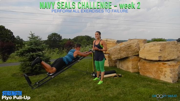 US Navy Seal Inspired Summer Boot Camp – Week 2 - Total Gym Pulse Health and…