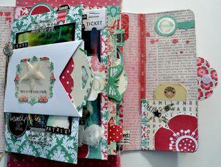ArtFromMyHeart: A Mini Album In A Box ... with Teresa Collins Design ...