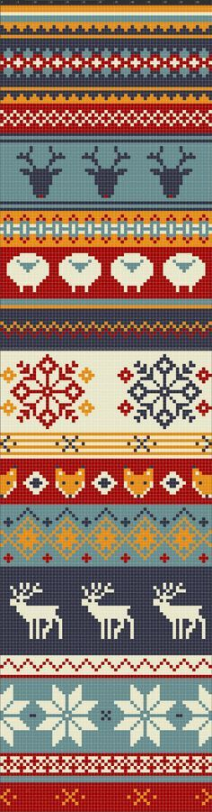 I can see doing any part of this as a border on something...especially fingerless mitts! What a scarf this would be!