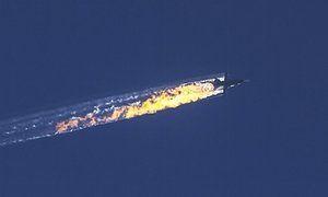 Az orosz jet lelőtték át Szíria november 2015.