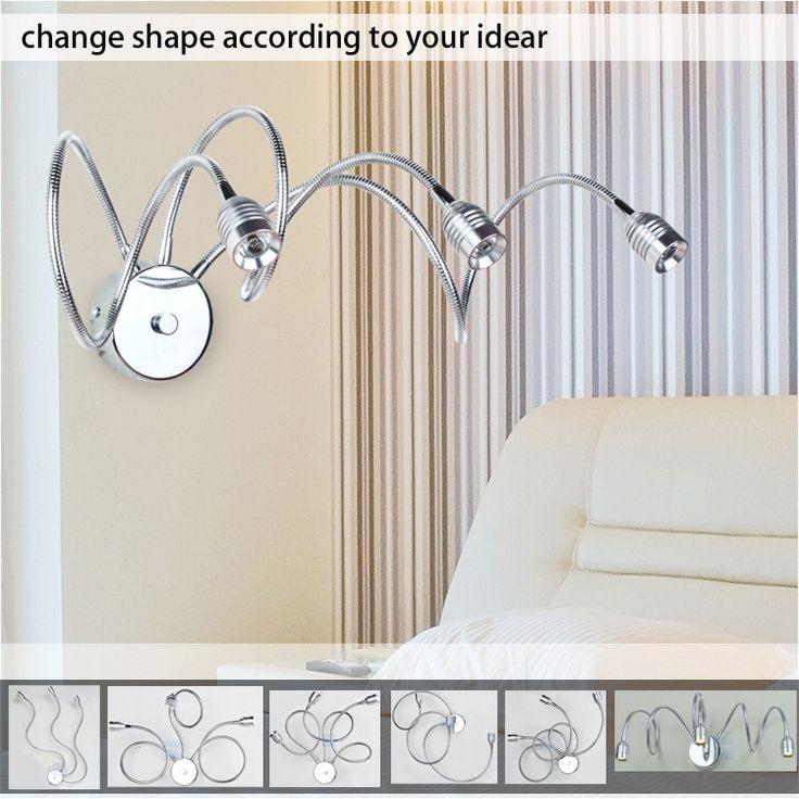 Паук оригинальный новый трансформер бра стены спальни бра столовая / гараж / солярии настенные светильники бра