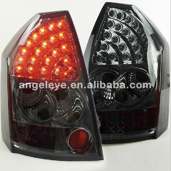375.99$  Buy now - http://alikcw.worldwells.pw/go.php?t=32788329121 - Hireno Tail Lamp for Chrysler 300C 2005 2006 2007 2008 2009 Taillight Rear Lamp Parking Brake Turn Signal Lights