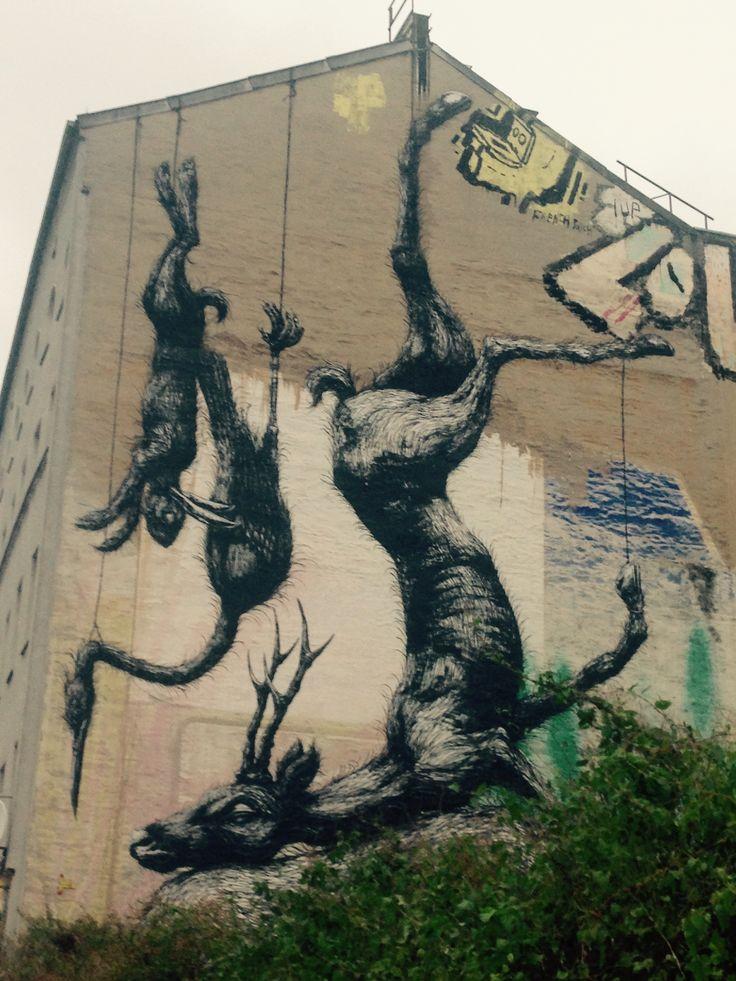 ROA / Street art of Berlin / Kreuzberg