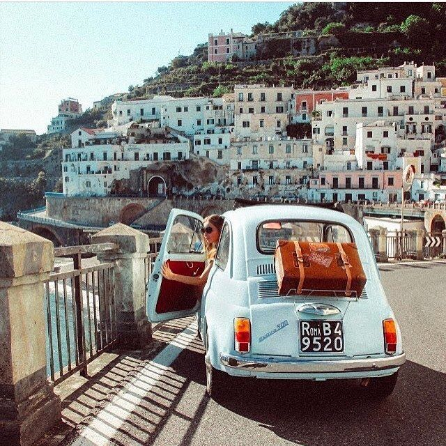 Rakehound The Amalfi Coast Looks So Much Better From The