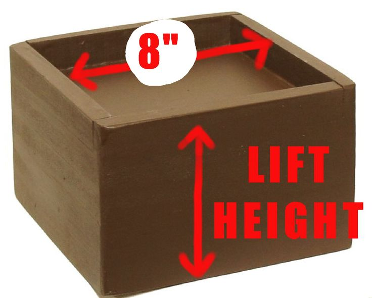 48.55 - Bed Lifters and Furniture Risers