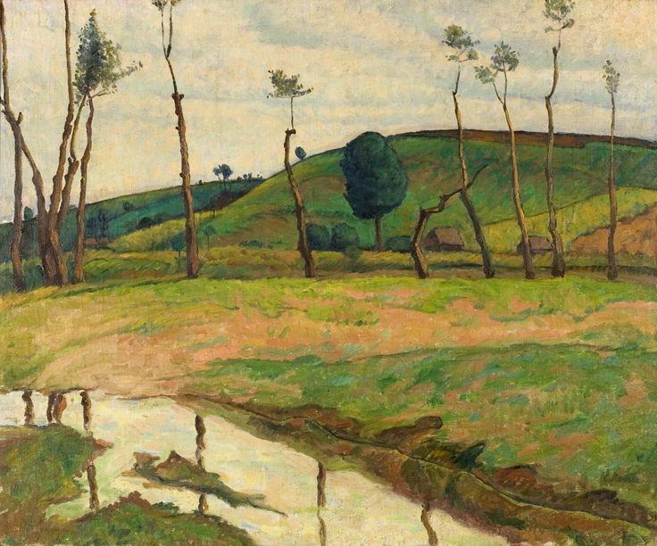 Camil Ressu – Peisaj cu șir de copaci  – 45.000 – 70.000 Euro