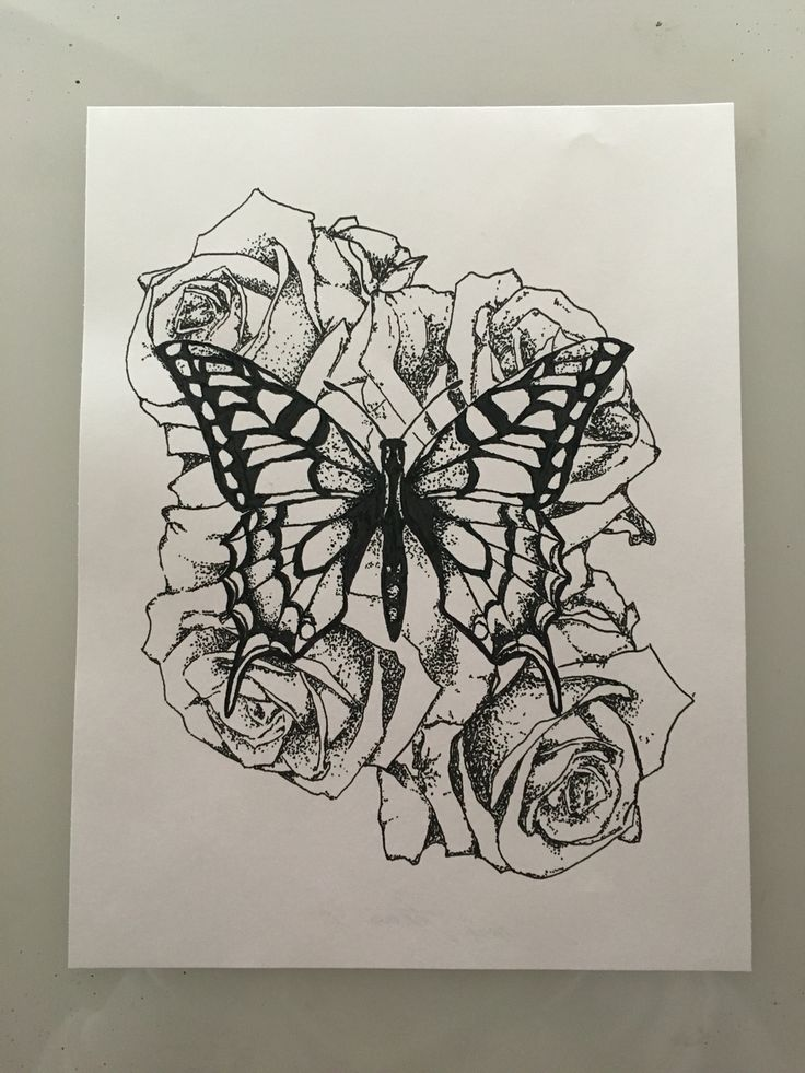 1000 Ideas About Butterfly Back Tattoo On Pinterest