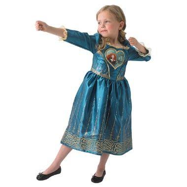 Disney Princess jurk Merida - maat 92/116  Met dit kostuum ga je verkleed als de Disney Princess Merida bekend van de film Brave.  EUR 33.94  Meer informatie