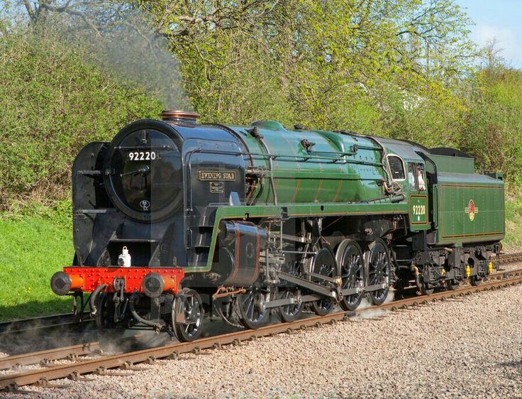 BR Standard class 9F 2-10-0  No 72220 'Evening Star'