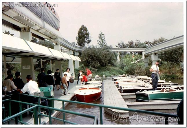 Today in Disneyland history: January 11, 1993 - The Motor Boat Cruise closed.    www.WaltsApartment.com