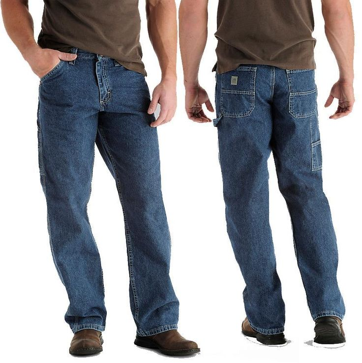 Carpenter Jeans 50 x 32 LEE DUNGAREES Relaxed Big & Tall Original Stone Wash NWT #Lee #Carpenter