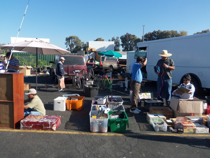 Collectibles at the San Jose Capitol Flea Market-we swear you can find everything here!