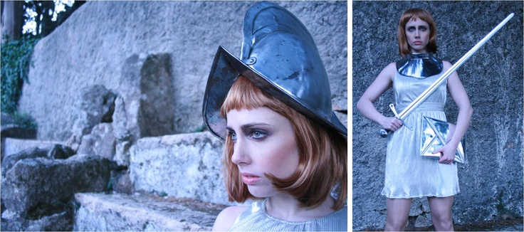Sessão Fotográfica - Joana D'Arc  Make up, Produção e Fotrografia - Sofia Novais de Paula  Modelo - Cecilia Hudec