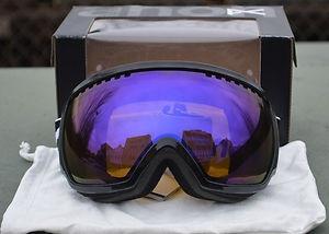 New Anon Comrade Black Blue Solex Mens Burton Ski Snowboard Goggles