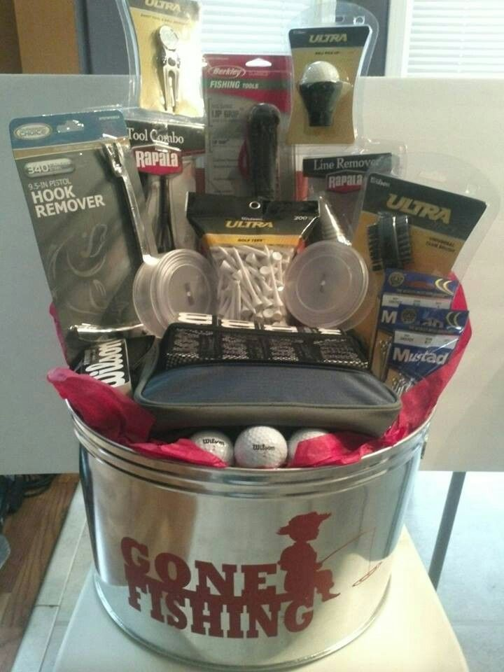 Personalized Men's Gift Basket