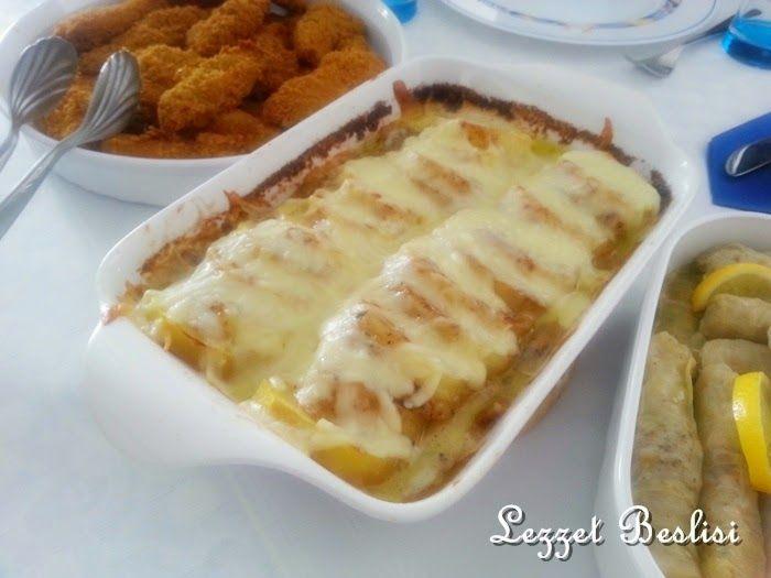denenmiş resimli yemek tarifleri: Fırında Kremalı Mantarlı Patates Tarifi