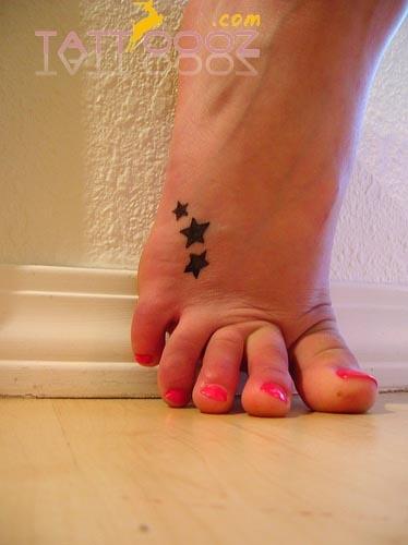 Foot Tattoo for Women