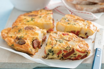 Make this scrumptious Mexican-style frittata filled with chorizo and ...