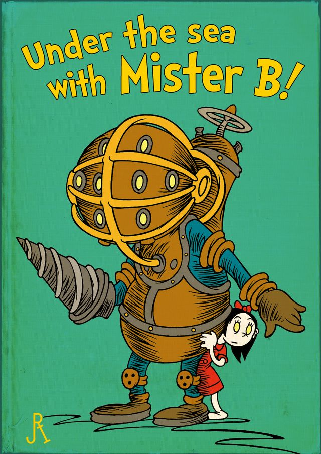 If Dr. Seuss Wrote BioShock and Silent Hill...