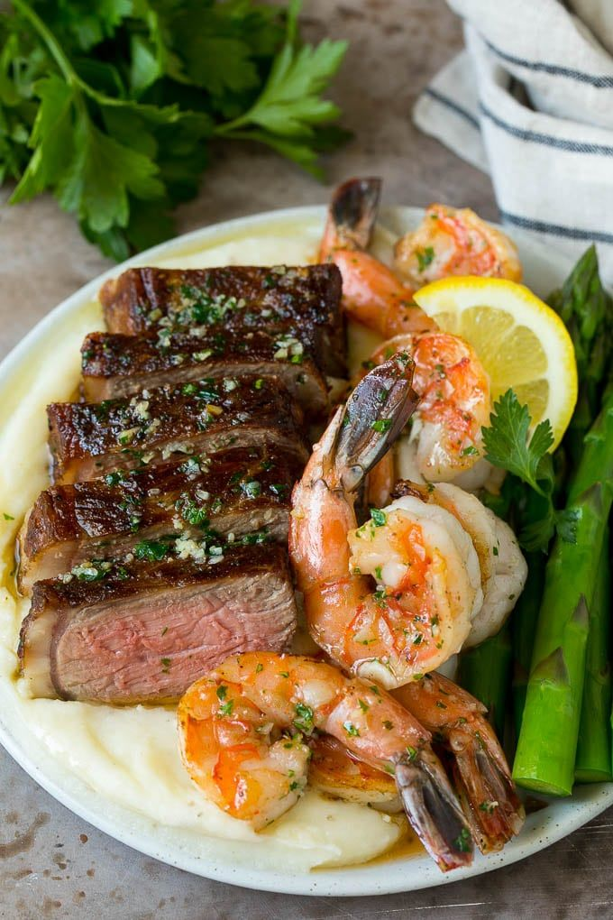 Fast And Easy Dinner Recipes: Seared Steak #steak #shrimp #keto