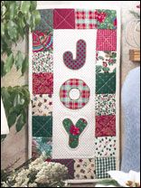 Welcome Christmas guests with this cheerful Joy Banner. The pattern is available for download at & 76 best Free Christmas Quilt Patterns images on Pinterest ... pillowsntoast.com