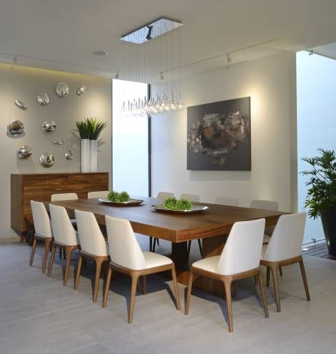 Las 25 mejores ideas sobre living comedor moderno en pinterest y m s plafon para techo - Lamparas para comedores modernos ...