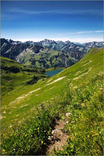 Bayern Seealpsee Allgäuer Alpen  Oberstdorf, Germany