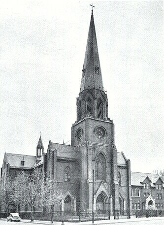 The Polish immigrant population in Buffalo was steadily increasing in 1890, and the existing church of St. Adalbert soon realized that another place of worship was needed in the East Side neighborhood. The bishop granted permission to form a new Polish parish in 1893, under the instruction of the Transfiguration of Our Lord