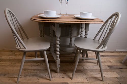 barley twist gateleg table painted  Google Search  ideas